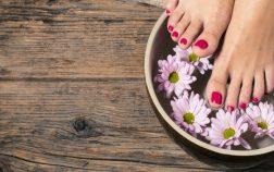 Nail bar pieds